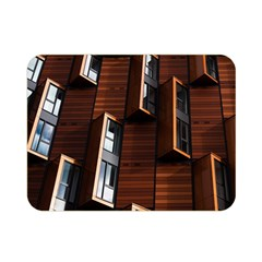 Abstract Architecture Building Business Double Sided Flano Blanket (mini)