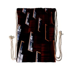Abstract Architecture Building Business Drawstring Bag (small)