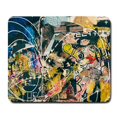 Art Graffiti Abstract Vintage Lines Large Mousepads