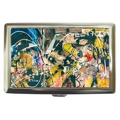 Art Graffiti Abstract Vintage Lines Cigarette Money Cases