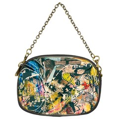 Art Graffiti Abstract Vintage Lines Chain Purses (one Side)