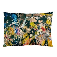 Art Graffiti Abstract Vintage Lines Pillow Case