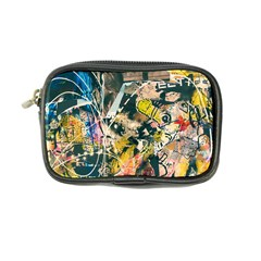Art Graffiti Abstract Vintage Lines Coin Purse