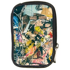 Art Graffiti Abstract Vintage Lines Compact Camera Cases