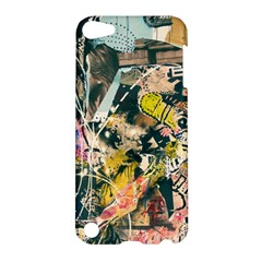 Art Graffiti Abstract Vintage Lines Apple Ipod Touch 5 Hardshell Case