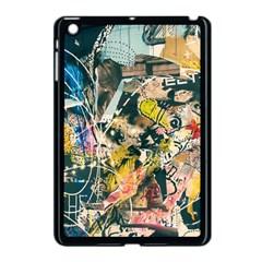 Art Graffiti Abstract Vintage Lines Apple Ipad Mini Case (black)