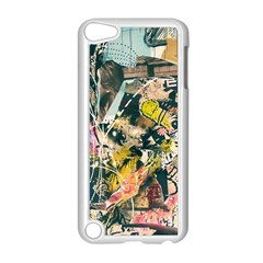 Art Graffiti Abstract Vintage Lines Apple Ipod Touch 5 Case (white)