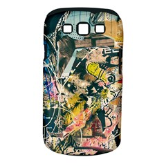 Art Graffiti Abstract Vintage Lines Samsung Galaxy S Iii Classic Hardshell Case (pc+silicone)