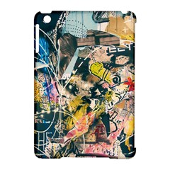 Art Graffiti Abstract Vintage Lines Apple Ipad Mini Hardshell Case (compatible With Smart Cover)
