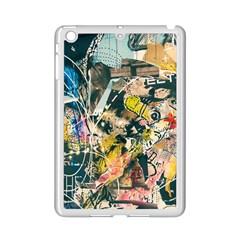 Art Graffiti Abstract Vintage Lines Ipad Mini 2 Enamel Coated Cases