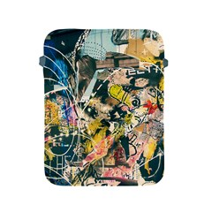 Art Graffiti Abstract Vintage Lines Apple Ipad 2/3/4 Protective Soft Cases