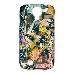 Art Graffiti Abstract Vintage Lines Samsung Galaxy S4 Classic Hardshell Case (pc+silicone)