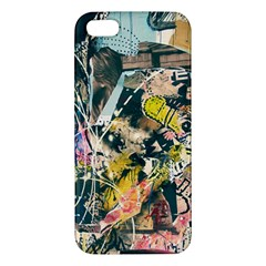 Art Graffiti Abstract Vintage Lines Iphone 5s/ Se Premium Hardshell Case