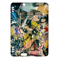 Art Graffiti Abstract Vintage Lines Kindle Fire Hdx Hardshell Case