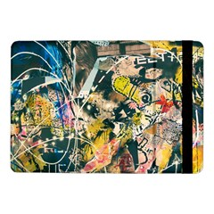 Art Graffiti Abstract Vintage Lines Samsung Galaxy Tab Pro 10 1  Flip Case