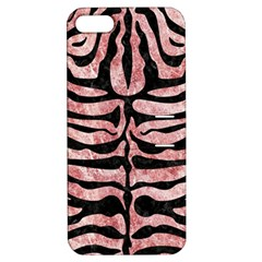 Skin2 Black Marble & Red & White Marble (r) Apple Iphone 5 Hardshell Case With Stand