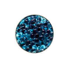 Blue Abstract Balls Spheres Hat Clip Ball Marker