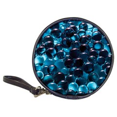 Blue Abstract Balls Spheres Classic 20 Cd Wallets