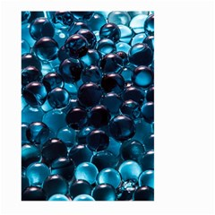 Blue Abstract Balls Spheres Large Garden Flag (two Sides)