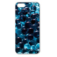 Blue Abstract Balls Spheres Apple Seamless Iphone 5 Case (clear)