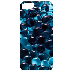 Blue Abstract Balls Spheres Apple Iphone 5 Classic Hardshell Case