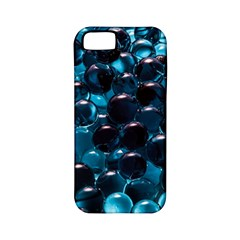 Blue Abstract Balls Spheres Apple Iphone 5 Classic Hardshell Case (pc+silicone)