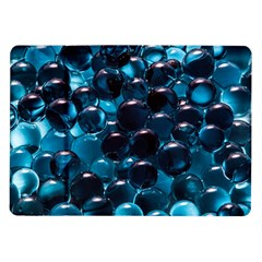 Blue Abstract Balls Spheres Samsung Galaxy Tab 10 1  P7500 Flip Case
