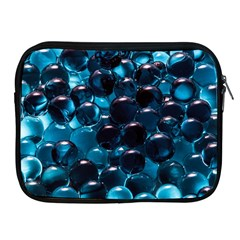 Blue Abstract Balls Spheres Apple Ipad 2/3/4 Zipper Cases