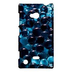 Blue Abstract Balls Spheres Nokia Lumia 720