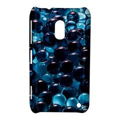 Blue Abstract Balls Spheres Nokia Lumia 620