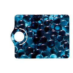 Blue Abstract Balls Spheres Kindle Fire Hd (2013) Flip 360 Case