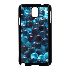 Blue Abstract Balls Spheres Samsung Galaxy Note 3 Neo Hardshell Case (black)
