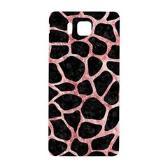 Skin1 Black Marble & Red & White Marble (r) Samsung Galaxy Alpha Hardshell Back Case