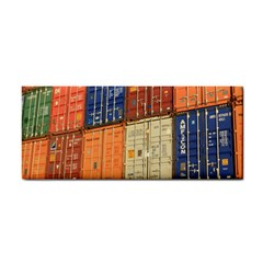 Blue White Orange And Brown Container Van Cosmetic Storage Cases