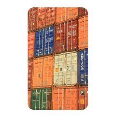 Blue White Orange And Brown Container Van Memory Card Reader