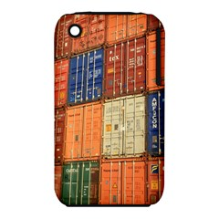 Blue White Orange And Brown Container Van Iphone 3s/3gs