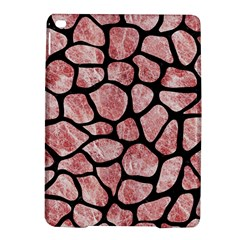 Skin1 Black Marble & Red & White Marble Apple Ipad Air 2 Hardshell Case