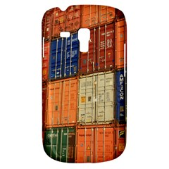 Blue White Orange And Brown Container Van Galaxy S3 Mini