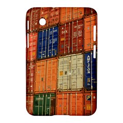 Blue White Orange And Brown Container Van Samsung Galaxy Tab 2 (7 ) P3100 Hardshell Case