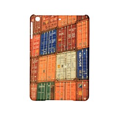 Blue White Orange And Brown Container Van Ipad Mini 2 Hardshell Cases
