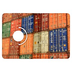 Blue White Orange And Brown Container Van Kindle Fire Hdx Flip 360 Case