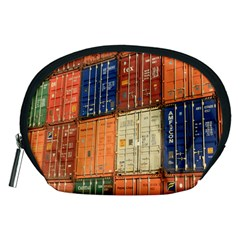 Blue White Orange And Brown Container Van Accessory Pouches (medium)