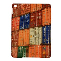 Blue White Orange And Brown Container Van Ipad Air 2 Hardshell Cases