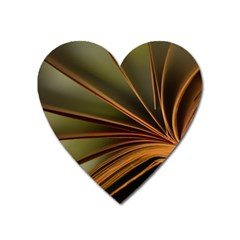 Book Screen Climate Mood Range Heart Magnet