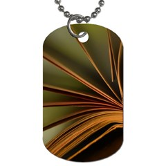 Book Screen Climate Mood Range Dog Tag (two Sides)
