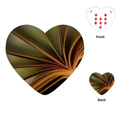 Book Screen Climate Mood Range Playing Cards (heart)