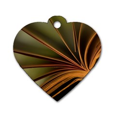 Book Screen Climate Mood Range Dog Tag Heart (two Sides)