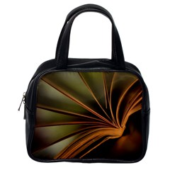 Book Screen Climate Mood Range Classic Handbags (one Side)