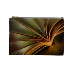 Book Screen Climate Mood Range Cosmetic Bag (large)