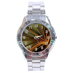 Book Screen Climate Mood Range Stainless Steel Analogue Watch